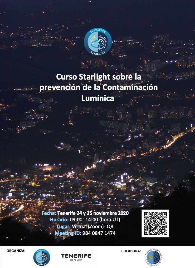 Curso Prevención Contaminación Lumínica Tenerife